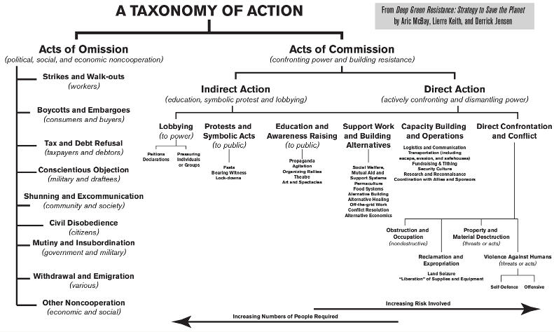 Chart: A Taxonomy of Action